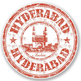 2 x Hyderabad India Vinyl Sticker #4744