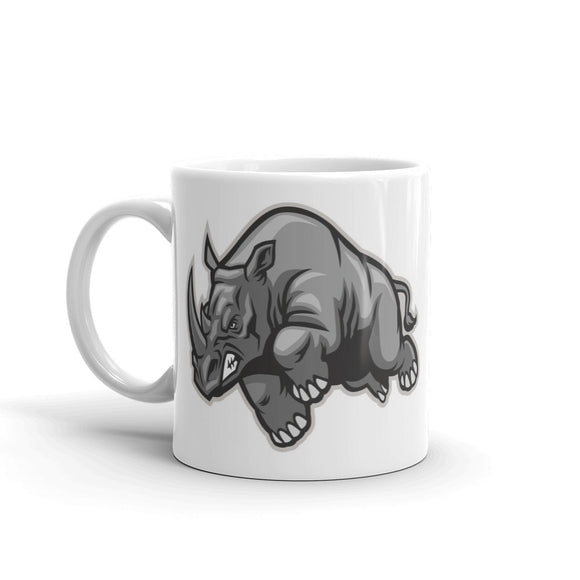 Angry Rhinosaurus High Quality 10oz Coffee Tea Mug #4752