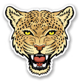 2 x Cheetah Vinyl Sticker #4793