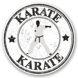 2 x Karate Vinyl Sticker #4795