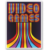 2 x Video Games Vinyl Sticker #4798