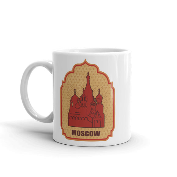 Moscow High Quality 10oz Coffee Tea Mug #4845