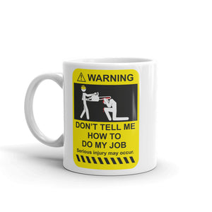 Funny Warning High Quality 10oz Coffee Tea Mug #4955
