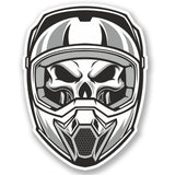 2 x Motorcross Helmet Vinyl Sticker #5012