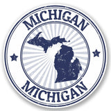 2 x Michigan USA Vinyl Sticker #5023
