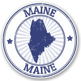 2 x Maine USA Vinyl Sticker #5025