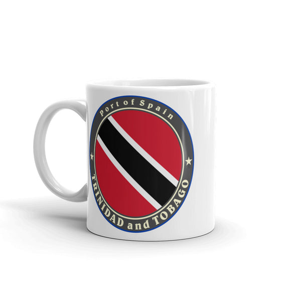 Trinidad and Tobago High Quality 10oz Coffee Tea Mug #5044