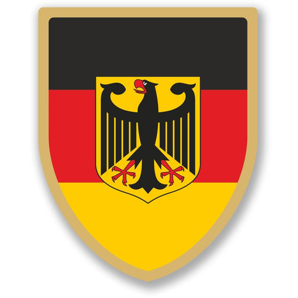 2 x German Eagle Vinyl Sticker #5067