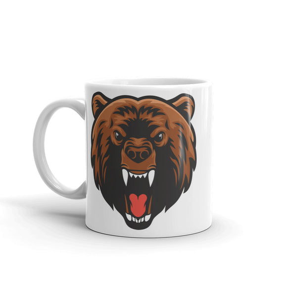 Angry Brown Bear High Quality 10oz Coffee Tea Mug #5071
