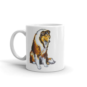 Collie Dog High Quality 10oz Coffee Tea Mug #5073