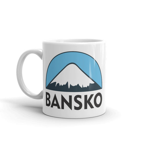 Bansko Ski Snowboard High Quality 10oz Coffee Tea Mug #5125