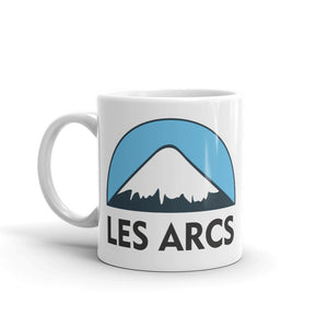 Les Arcs Ski Snowboard High Quality 10oz Coffee Tea Mug #5133