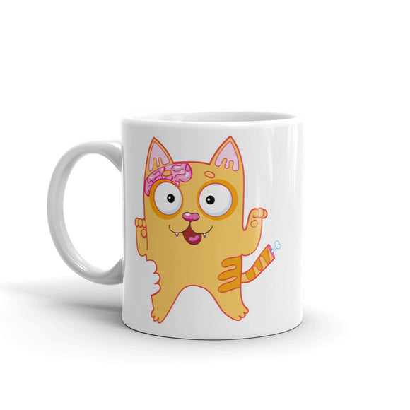 Zombie Cat High Quality 10oz Coffee Tea Mug #5183