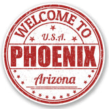 2 x Phoenix Arizona USA Vinyl Sticker #5213