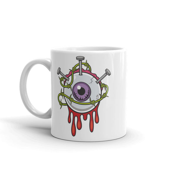 Zombie Eyeball High Quality 10oz Coffee Tea Mug #5215
