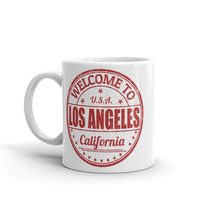 Los Angeles California USA High Quality 10oz Coffee Tea Mug #5217