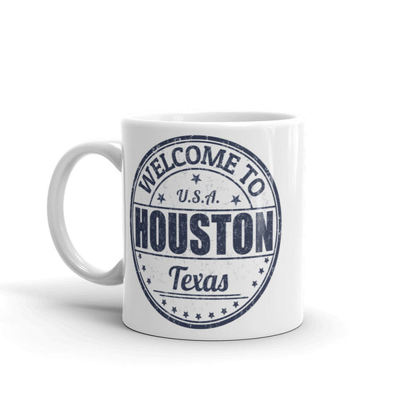 Houston Texas USA High Quality 10oz Coffee Tea Mug #5222