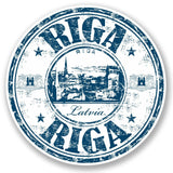 2 x Riga Latvia Vinyl Sticker #5225