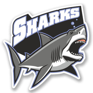 2 x Shark Vinyl Sticker #5253