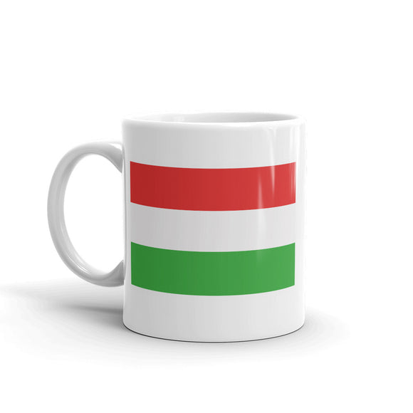 Hungary Flag High Quality 10oz Coffee Tea Mug #5264