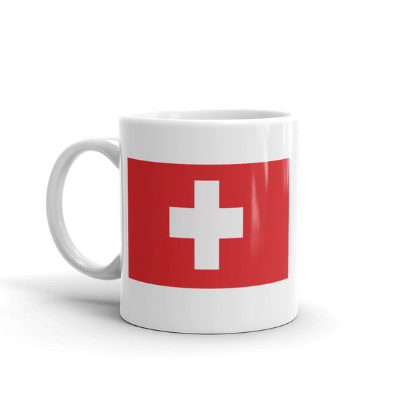 Switzerland Flag High Quality 10oz Coffee Tea Mug #5288