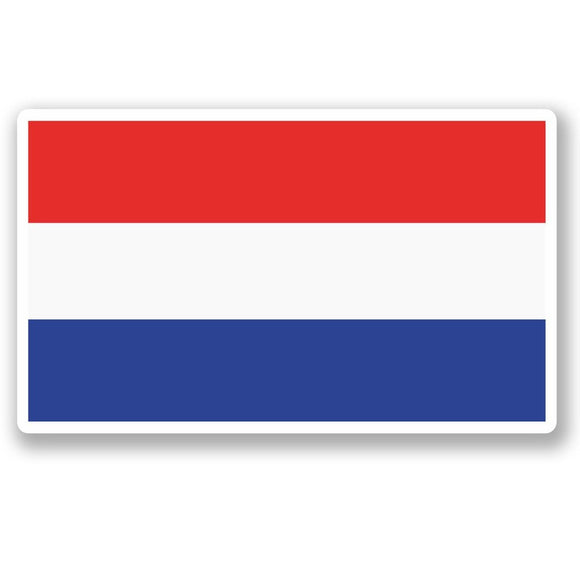 2 x Netherlands Flag Vinyl Sticker #5291