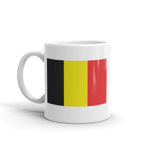 Belgium Flag High Quality 10oz Coffee Tea Mug #5307