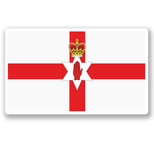 2 x Northern Ireland Flag Vinyl Sticker #5316