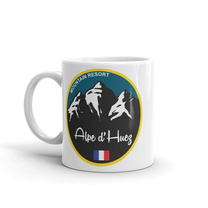 Alpe d'Huez Ski Snowboard High Quality 10oz Coffee Tea Mug #5333