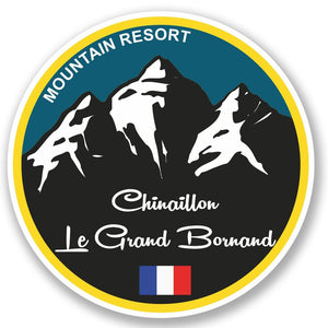 2 x Chinaillon Ski Snowboard Vinyl Sticker #5335