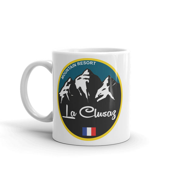 La Clusaz Ski Snowboard High Quality 10oz Coffee Tea Mug #5340