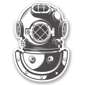 2 x Diving Bell Vinyl Sticker #5348