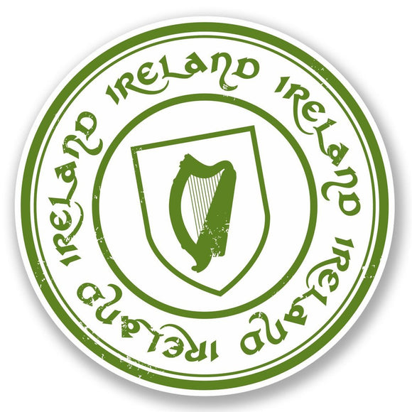 2 x Ireland Vinyl Sticker #5391