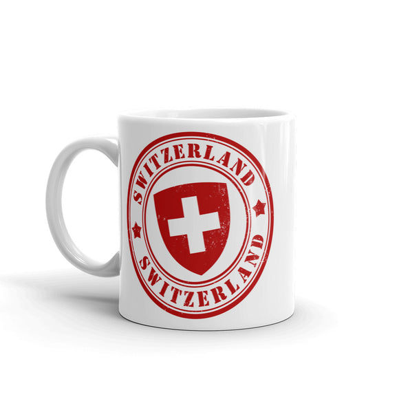 Switzerland High Quality 10oz Coffee Tea Mug #5392