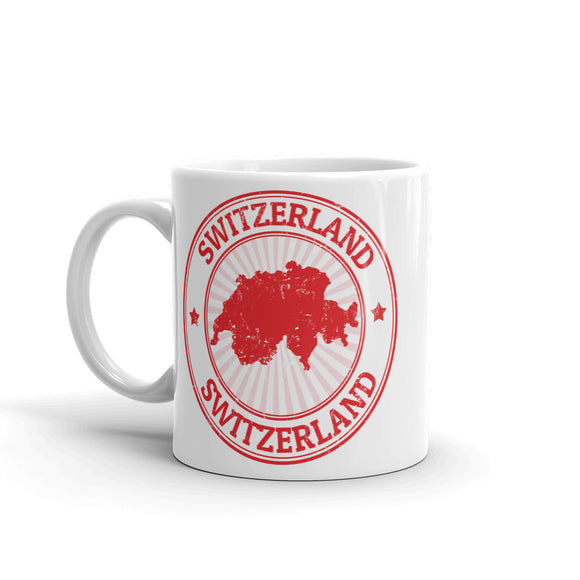 Switzerland High Quality 10oz Coffee Tea Mug #5396