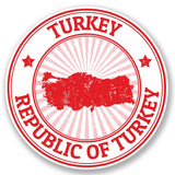 2 x Turkey Vinyl Sticker #5401
