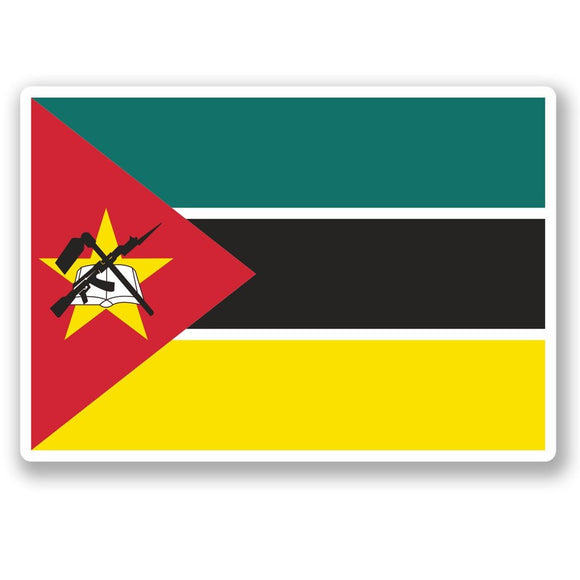 2 x Mozambique Vinyl Sticker #5407