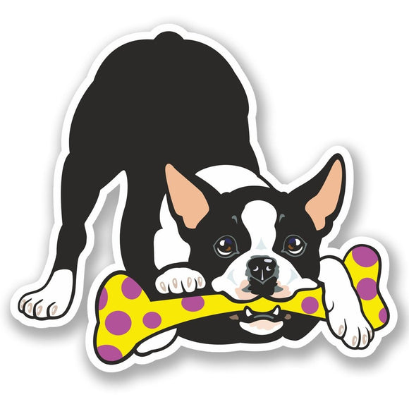 2 x French Bulldog Vinyl Sticker #5460