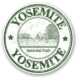 2 x Yosemite USA Vinyl Sticker #5484