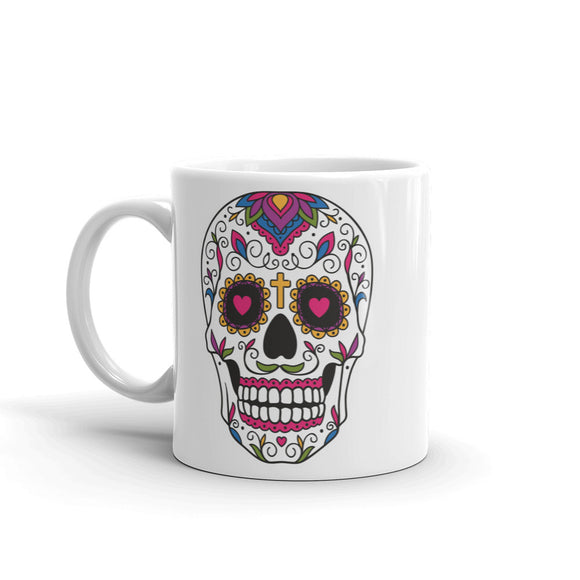 Sugar Skull High Quality 10oz Coffee Tea Mug #5513
