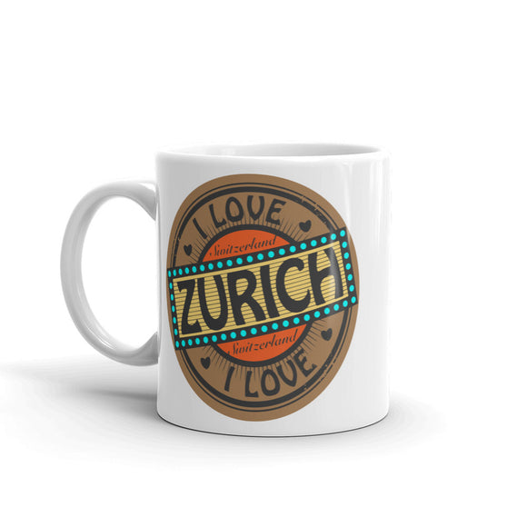 Zurich Switzerland High Quality 10oz Coffee Tea Mug #5514