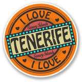 2 x Tenerife Canary Islands Vinyl Sticker #5515