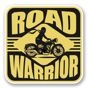2 x Road Warrior Vinyl Sticker #5529