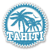 2 x Tahiti Vinyl Sticker #5541