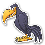 2 x Raven Crow Vinyl Sticker #5603