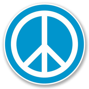 2 x Peace Vinyl Sticker #5609