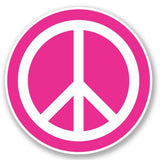 2 x Peace Vinyl Sticker #5610