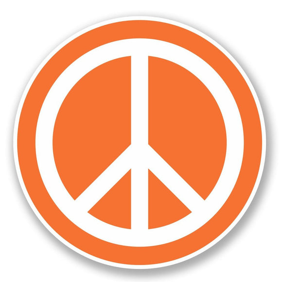 2 x Peace Vinyl Sticker #5611