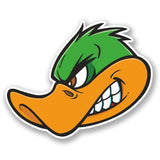 2 x Angry Duck Vinyl Sticker #5615