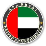 2 x United Arab Emirates Vinyl Sticker #5621